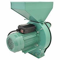 Кормоизмельчитель для зерна и початков кукурузы (зернодробилка) 2.8 кВт, фото 2