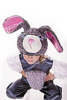 Детский костюм Зайка серенький, рост 110-125 см