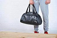 Спортивная сумка пума (Puma), кож. зам.