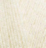Пряжа Alize Sal Sim кремовый №01для ручного вязания