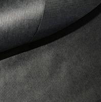 Бумага крафт упаковочная, 1 м, цвет черный