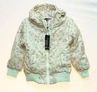 Красивая курточка 3D Yuan Yuan для девочки весна-осень, замеры в описании