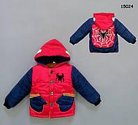 Демисезонная куртка Spider для мальчика. 2, 4 года