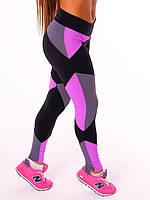 """Спортивные женские легинсы NOVA VEGA """"Joker"""", леггинсы для бега, лосины для йоги, фитнеса, спортзала"""