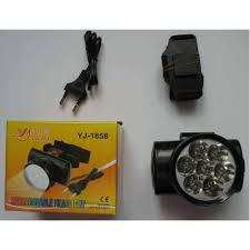 Фонарь налобный YAJIA YJ-1858 7LED фонарь на голову аккумуляторный светодиодный