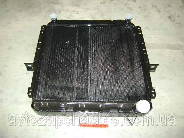 Радиатор  Маз 500 , 3-х рядный (производитель ШААЗ, Шадринский автоагрегатный завод, Россия)