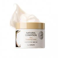 Рисовый крем для демакияжа The Saem Natural Condition Rice Cleansing Cream
