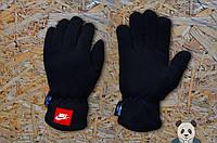 Флисовые зимние перчатки Nike / Найк