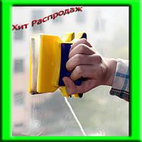 ЩЁТКА МАГНИТНАЯ ДЛЯ ДВУХСТОРОННЕГО МЫТЬЯ СТЕКОЛ DOUBLE SIDED GLASS CLEANER