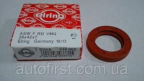 Elring 546.968 Сальник коленвала передний ВАЗ 2108-2110 (Германия)