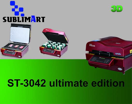 Многоцелевой вакуумный термопресс для 3D сублимации ST-3042 ultimate edition, фото 2