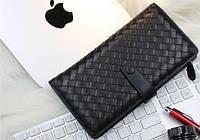 Мужской стильный кожаный клатч Btk016 черный