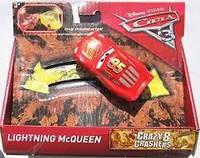 Машинка Disney Pixar Cars 3 Crazy 8 Crashers Lightning McQueen, фото 1