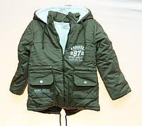 Зимняя парка для мальчика Amodeski 92-116рр