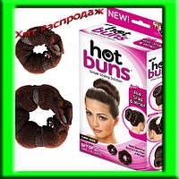 Валик - заколка для волос Hot Buns (Хот Банс)