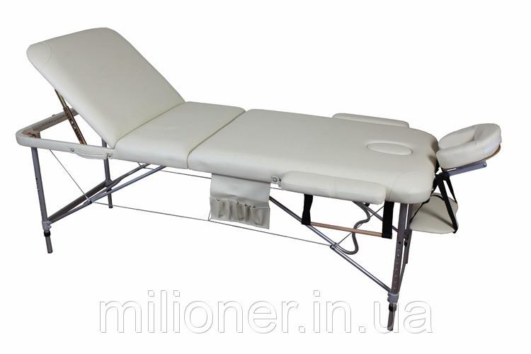 Массажный стол алюминиевый 3-х сегментный стол для массажа - Оптово-розничный интернет магазин mega-baby-shop.com.ua в Киеве