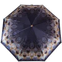 Зонт женский полуавтомат обратного сложения  ТРИ СЛОНА re-e-100n-ac-4