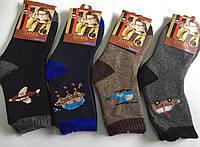 Шертяные махровые носки 21-26, 26-31,  31-36 Ангора Корона
