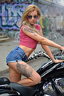 Фотосессия с мотоциклом, фотомотосет