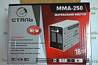 Зварювальний інвертор Сталь ММА-250, фото 1
