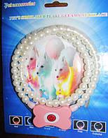 Ошейник-ожерелье светящийся для кошек и собак , разные размеры  185мм