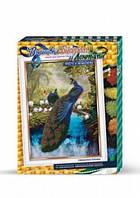 Набор креативного творчества Вышивка бисером и лентами dankotoys БВ-01Р-09