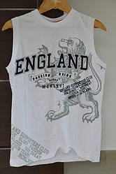 Футболка England LB Glory SLess T23 White L