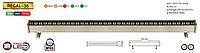 Линейный POVER LED прожектор REGAL-36