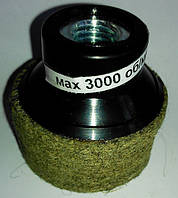 Круг войлочный 50 х 22 х М14 полировальный грубошерстный на УШМ (для углошлифовальных машин) 3000 об/мин