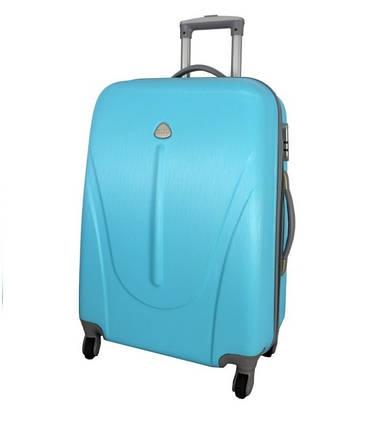 Чемодан сумка 882 XXL (небольшой) голубой, фото 2