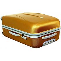 Чемодан сумка 882 XXL (небольшой) голубой, фото 3