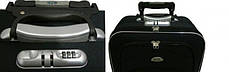 Чемодан сумка 773 (небольшой) черно-оранжевый, фото 2