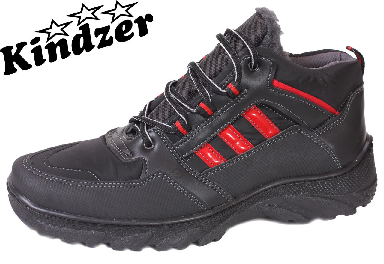 Ботинки Kindzer Б-5 BlackRed  продажа 7018f9c2f831d