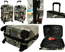 Чемодан сумка RGL (средний) горошок, фото 2