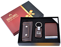 Подарочный набор moongrass визитница/брелок/ключница №pj-9179so