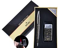 Подарочный набор Moongrass Зажигалка/Ручка №RJ-7187SO