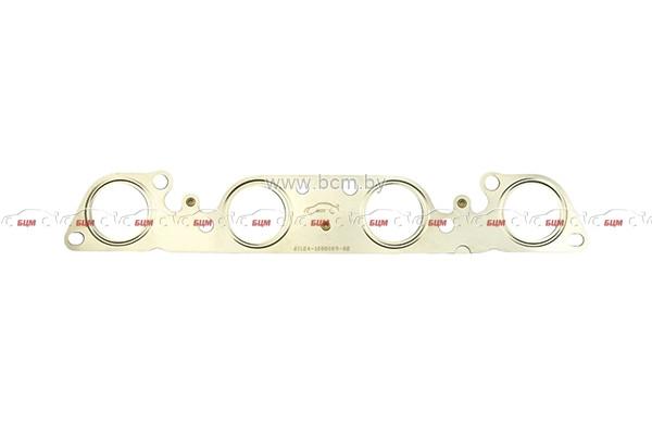 Прокладка коллектора ВАЗ 21124 дв.1,6; 16 кл. 2х-слойная (выпуск)