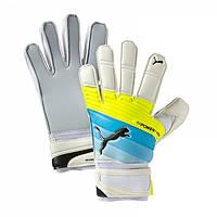 Вратарские перчатки Puma evoPower Grip Aqua