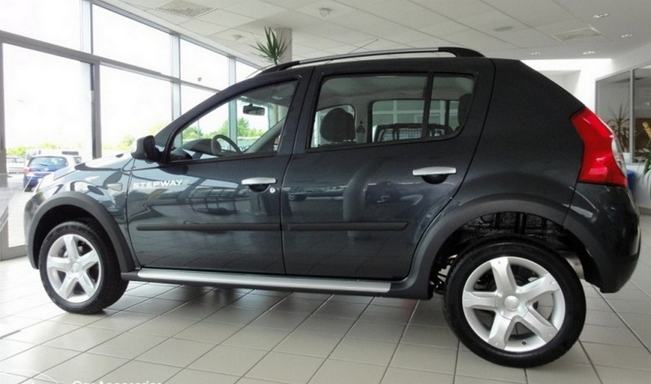 Молдинги на двери Renault Dacia Sandero I / Sandero Stepway I 2007-2013