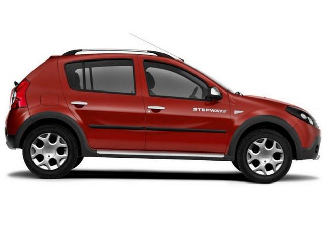 F-3 Door moldings Renault Dacia Sandero I, Sandero Stepway I 2007-2013