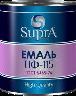 Емаль алкідна ТМ Supra Premium для внутрішніх і зовнішніх робіт по металу та дереву (ГОСТ 6465-76)