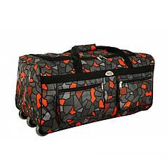 Дорожная сумка на колесах RGL A1 88 л kolor 6