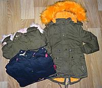 Куртка зимняя для девочек оптом S&D 8-16 лет. № KF67