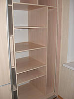 Полки, штанги для одежды для шкафов купе, фото 1