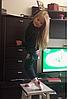 Теплые лосины с юбкой для девочки 3-4 года, фото 5