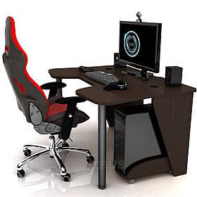Геймерский игровой стол Igrok-3, Орех темный (Zeus ТМ)