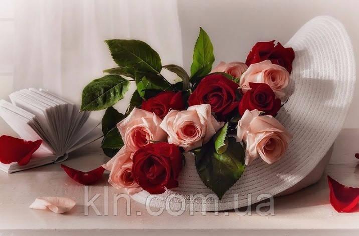Набор для алмазной мозаики Изысканные цветы 60 х 40 см (арт. FS633)