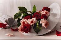 Набор для алмазной мозаики Изысканные цветы 60 х 40 см (арт. FS633) , фото 1