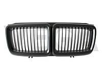 BMW 7 E32 FL 92-94 черная матовая решетка центральная между фар радиаторная