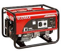 Бензиновый генератор Elemax SH-7600EX, 6.5 кВA, дв.Honda GX390, ручной пуск